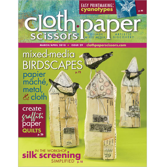 cloth paper scissors magazine Find dozens of helpful tutorials & ideas for crafts and mixed media art projects,  including printing, stamping, painting, collage and more.