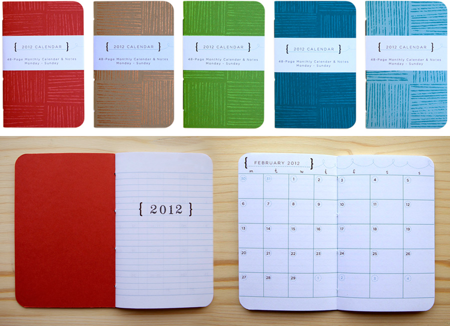 Erinzam News Blog Archive New Mini Planners For 2012